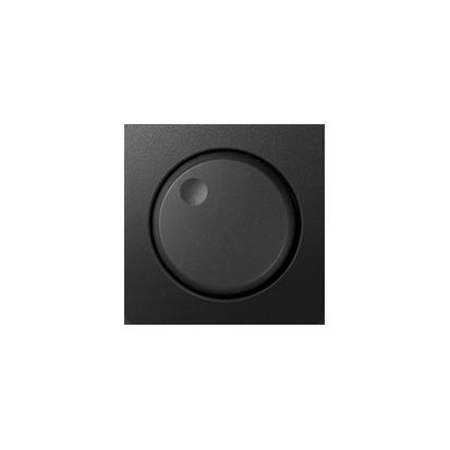 Abdeckung für Drehdimmer graphit matt Kontakt Simon 82 82054-38