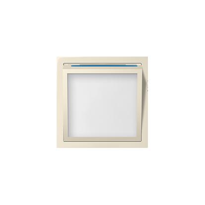 Abdeckung für beleuchtetes Modul LED beige matt Kontakt Simon 82 82036-31