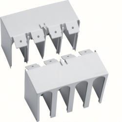 Anschlussabdeckung - (gerade geschlossen) H250 4P TM HYG022H Hager