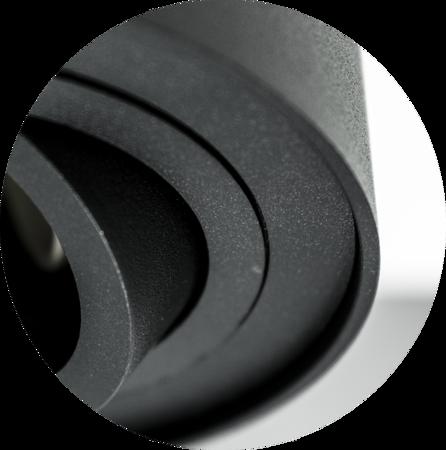 Aufbaustrahler Aufbauleuchte SKAND 1 BLACK GU10 Deckenleuchte rund schwarz EDO777100 EDO
