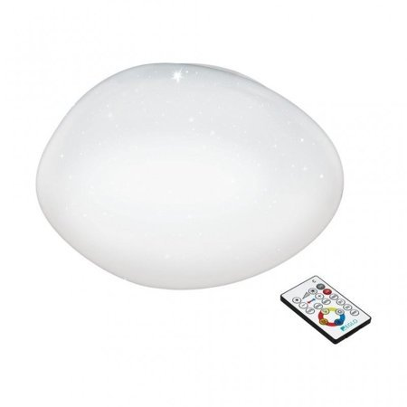 Aufputzlampe Deckenleuchte SILERAS weiß LED 45cm 21W 2500lm 2700K 97577 EGLO