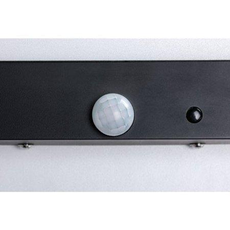 Außen-Panel BOARD 40 Sensor LED 10W 3000K IP44 - Anthrazit Paulmann PL94255
