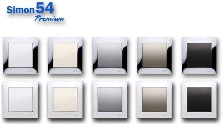 Blindverschluss für Lautsprecher- Steckdosen Simon 54 Premium Kontakt Simon DGL3.01/.. , GL3Z/11