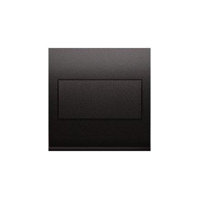 Blindverschluss für Rahmen mit Steckbefestigung anthrazit matt Simon 54 Premium Kontakt Simon DP/48