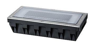 Bodeneinbauleuchten Solar CUBE LED 0,6W 2700K 7,5lm inox IP67 Paulmann