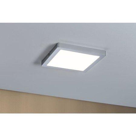 Deckenleuchte ATRIA quadratisch LED 24W 2700K DIM Chrom matt Paulmann PL70867