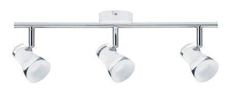 Deckenleuchte LED Spotlight Clear 3x4,3W 3000K Chrom