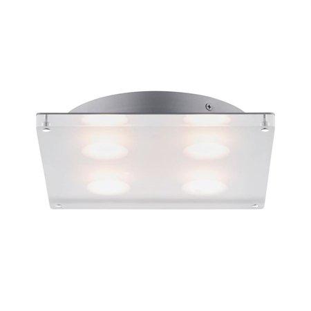 Deckenleuchte Minor LED quadratisch 18W 3000K IP44 Satin