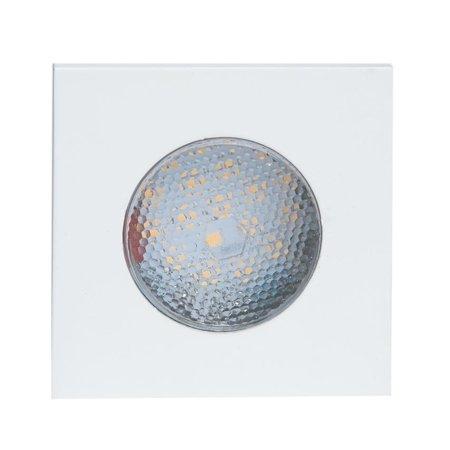 Die Fassung für Deckenspot LED SINGLE SQUARE weiss Kobi