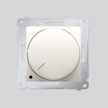 Drehdimmer 2polig für dimmbare LEDs cremeweiß Simon 54 Premium Kontakt Simon DS9L2.01/41