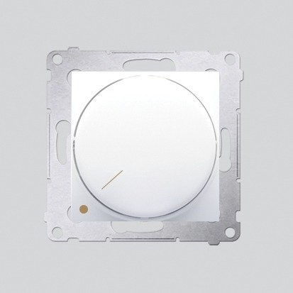 Drehdimmer 2polig für dimmbare LEDs weiß Simon 54 Premium Kontakt Simon DS9L2.01/11