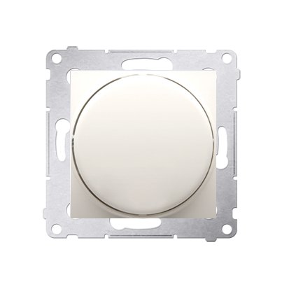 Drehpotenziometer 1- 10 V Regulierknopf mit Softrastung cremeweiß matt DS9V.01/41