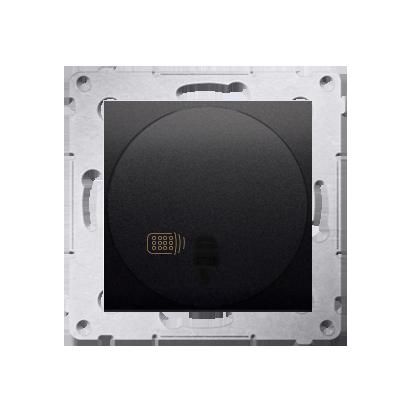 Druckdimmer (Modul) mit Fernbedienung 20- 500W anthrazit matt Kontakt Simon 54 Premium DS13T.01/48