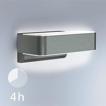 Einbauleuchte L 810 LED mit Touchschalter iHF Connect 12W 3000K 858lm Anthrazit Steinel