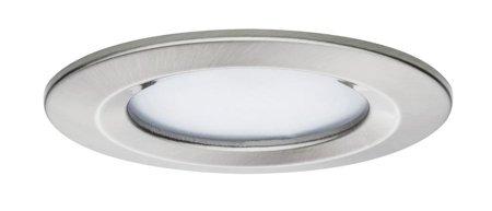 Einbauleuchte LED Premium EBL Coin Slim 6,8W 2700K 415lm IP44 Chrom