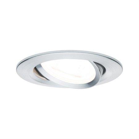 Einbauleuchte schwenkbar Premium EBL Nova GU10 Aluminium