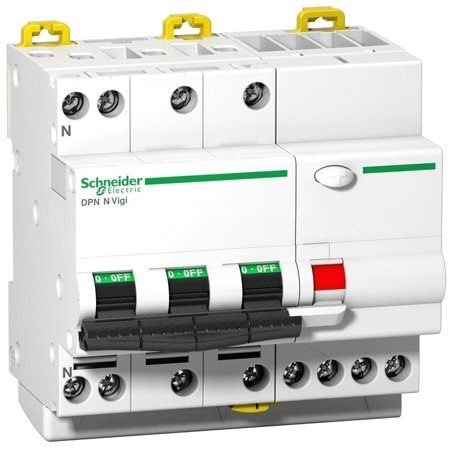 Fehlerstrom-Schutzschalter DPNNVigi-C6-30-A C 6A 3N-polig 30 mA Typ A