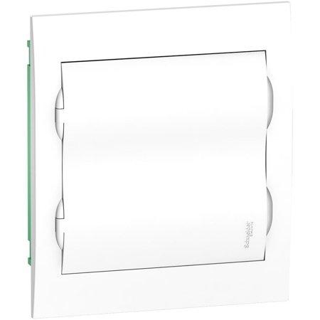 Gehäuse unterputz IP40 EZ9E-2-12-PT-P weiße Tür 2 Reihen x12 Module