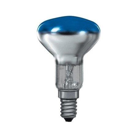 Glühbirne R50 E14 blau 25W