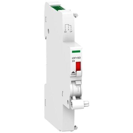 Hilfsschalter/Fehlermeldeschalter Acti9 iOF+SD24 mit einem Eingang Ti24