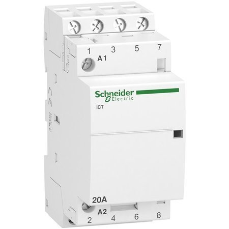 Installationsschütz iCT50-20-40-230 20A 4NO 50Hz 220/240 VAC