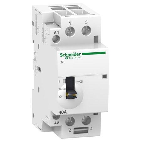 Installationsschütz iCT50r40-20-24 40A 2NO 50/60Hz 24 VAC