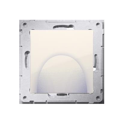 Kabelauslass mit Abdeckung cremeweiß matt Simon 54 Premium Kontakt Simon DPK1.01/41