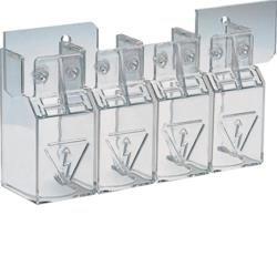 Klemmenabdeckungen für Lasttrennschalter 125-200A 4polig Hager HZC202