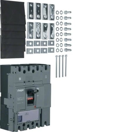 Lasttrennschalter Baugröße h630 4polig 630A Hager HCD631H