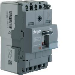 Lasttrennschalter Baugröße x160 3polig 125A Hager HCA125H