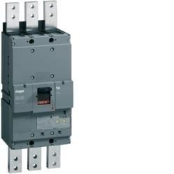 Leistungsschalter Baugröße h1600 3polig 50kA 1250A elektronischer Einstell. LSI Hager HNF980H