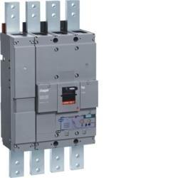 Leistungsschalter Baugröße h1600 4polig 50kA 1250A elektronischer Einstell. LSI Hager HNF981H