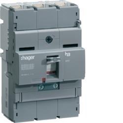 Leistungsschalter Baugröße x250 3P 40kA 160A TM Hager HNB160H