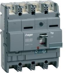 Leistungsschalter Baugröße x250 4polig 40kA 160A TM Hager HNB161H
