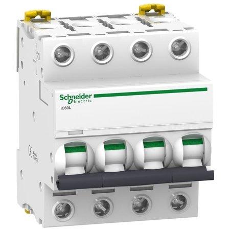 Leitungsschutzschalter iC60L-C6-4 C 6A 4-polig
