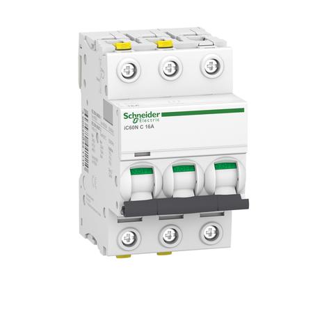 Leitungsschutzschalter iC60N-C16-3N C 16A 3N-polig