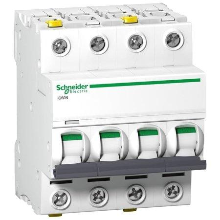 Leitungsschutzschalter iC60N-D10-4 D 10A 4-polig