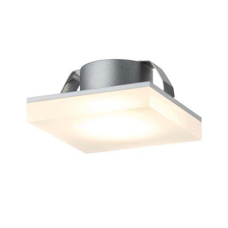 Möbel Aufbauleuchte Einbaustrahler Fleecy LED quadratisch 3x1,3W 2700K Satin