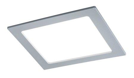 Panel LED Qual quadratisch 18W 4000K Chrom IP44