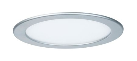 Panel LED Qual rund 18W 2700K Chrom IP44