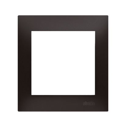Rahmen 1fach für Hohlwanddose Gipskarton anthrazit matt IP20/IP44 Kontakt Simon 54 Premium DRK1/48