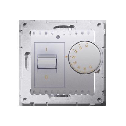 Raumtemperatur- Regler mit Innensensor (Modul) silber matt Kontakt Simon 54 Premium DRT10W.02/43
