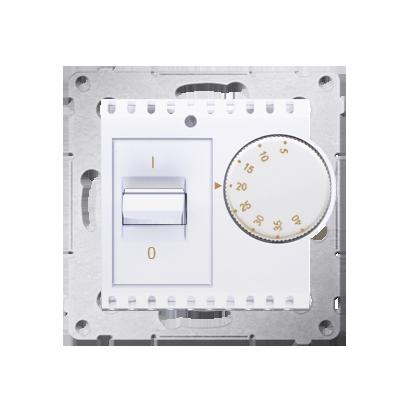 Raumtemperatur- Regler mit Innensensor Weiß glänzend Simon 54 Premium Kontakt Simon DRT10W.02/11