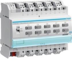 Schalt-/Jalousieaktor 10/5fach 16A KNX Hager TYA610C