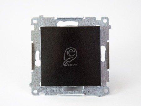 Schalter (Modul) einpolig anthrazit matt Kontakt Simon 54 Premium DW1A.01/48