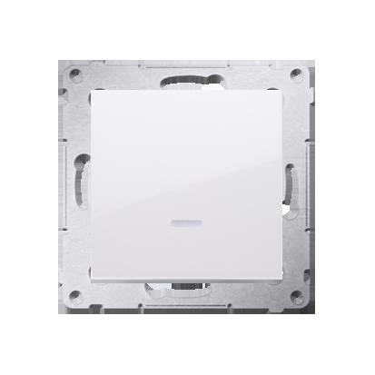 Schalter (Modul) einpolig mit Signalisierung weiß Kontakt Simon 54 Premium DW1ZL.01/11