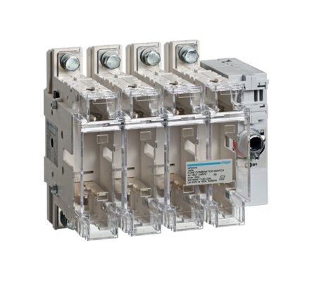 Schalter mit Sicherung 4polig 160 A/ T00 Hager HFD416