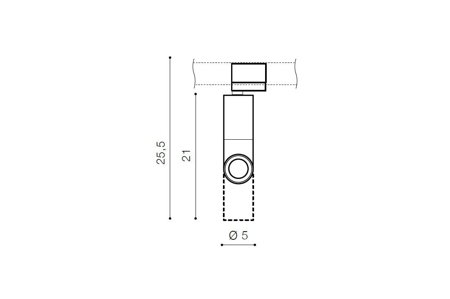 Schienenlampe Santos 3F Modern Aluminium Schwarz Azzardo AZ2924