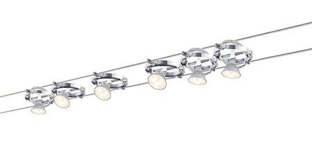 Seilsystem LED Cardan 6x4W weiß 12V