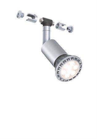 Seilsystem Spot Salt GU5,3 Chrom matt 12V